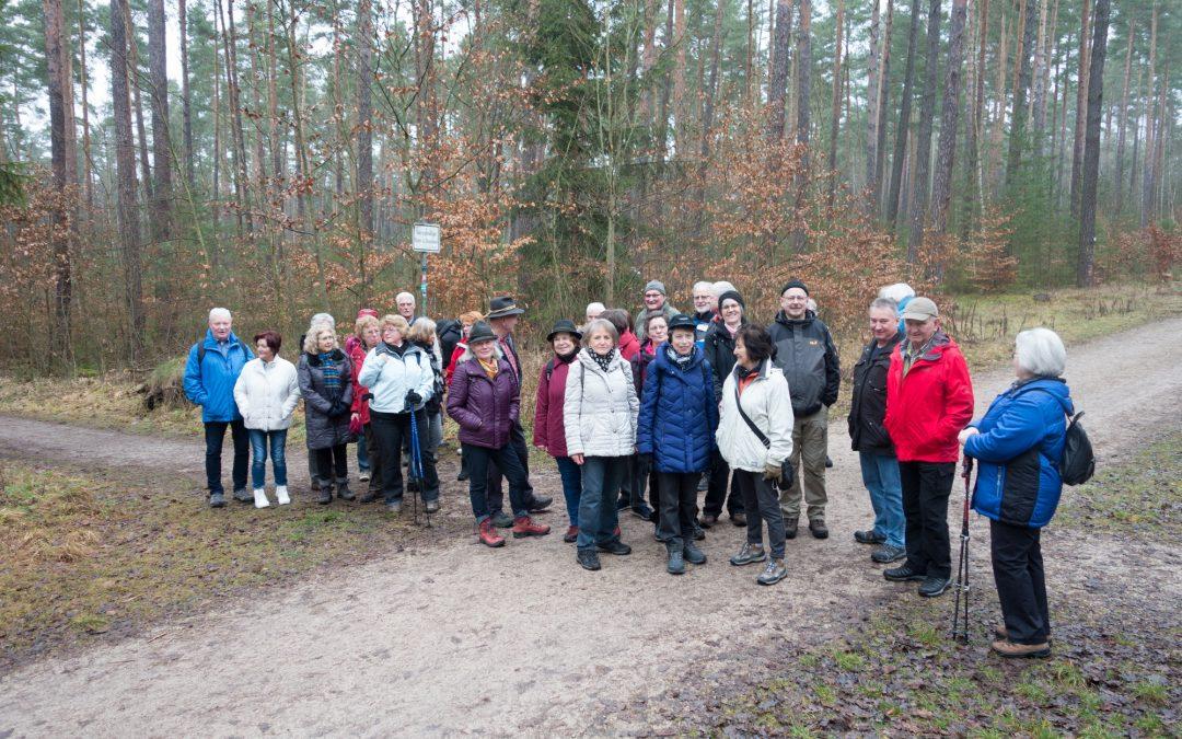 Winterwanderung nach Kornburg 27.01.2018