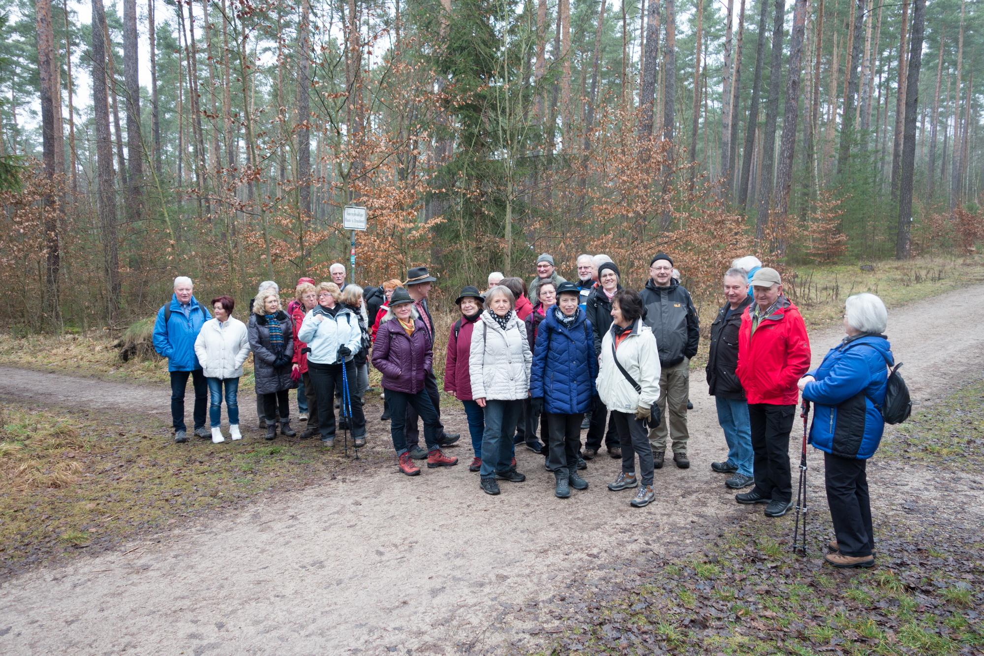 TVR-Winterwanderung 27.01.2018 - 07